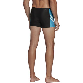adidas Fit 3Second BX Boxer Homme, black/shock cyan/white